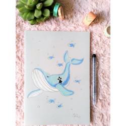 Cahier Baleine bleue