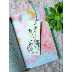 Marque-pages fées fleurs