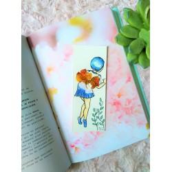 Marque-pages fée bleue