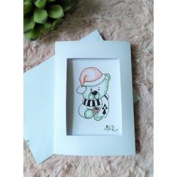 Carte de voeux Noël