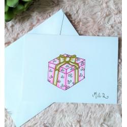 Carte cadeau de fête