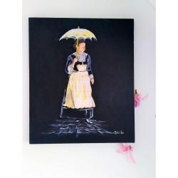 Bretonne à l'ombrelle