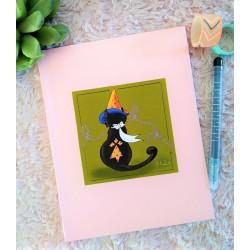 Cahier chat sorcier