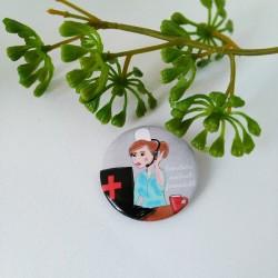 Badge Secrétaire médicale