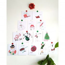 Calendrier de l'Avent Noël...