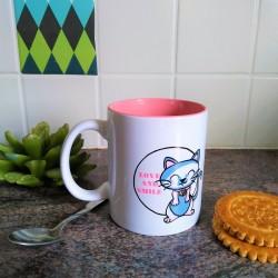 Mug Love and Smile