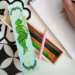 Boite à crayons fée