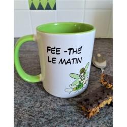 Mug fée thé le matin