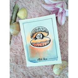 Carte coquille saint jacques